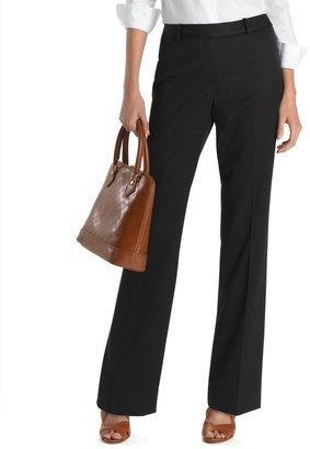 Brooks Brothers Petite Plain-Front Caroline Fit Gabardine Dress Trousers