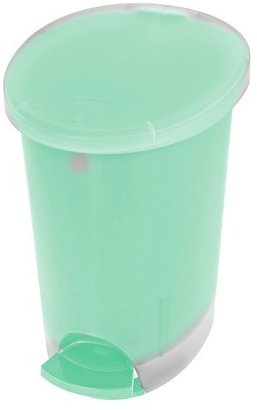 Room Essentials 2.6 Gal Step-Open Trash Can Mint