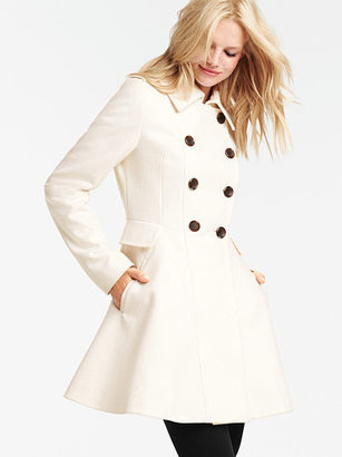 Victoria's Secret Wool Fit-and-Flare Coat