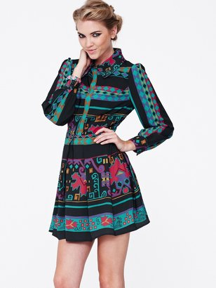 Love Label Printed Shirt Dress