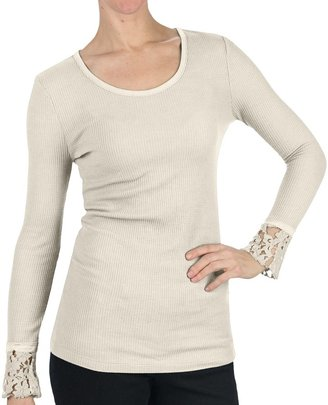 DylanThermal T-Shirt - Scoop Neck, Long Sleeve (For Women)