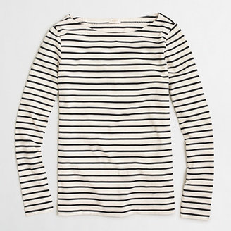 Long-sleeve striped boatneck T-shirt $49.50 thestylecure.com