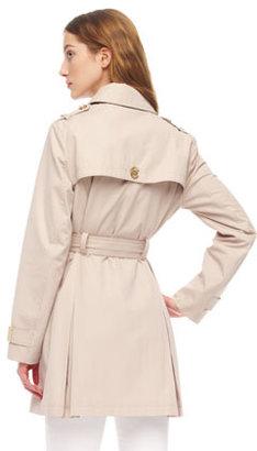 MICHAEL Michael Kors Belted Short Trenchcoat