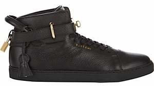 Buscemi Men's 100MM Leather Sneakers - Black