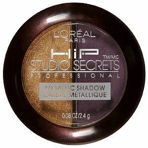 L'Oreal HiP Studio Secrets Professional Metallic Shadow Duo, Charged