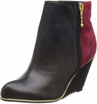 Ravel Womens Mirage Boots RLB005 Black/Burgundy 5 UK 38 EU