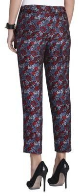 BCBGMAXAZRIA Slim-Leg Cropped Pants