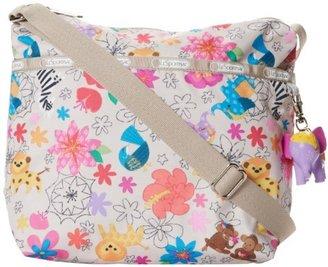 Le Sport Sac Small Cleo Char Messenger Bag