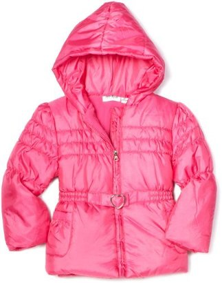Amy Byer Outerwear Toddler Girls Irridescent Bubble Jacket