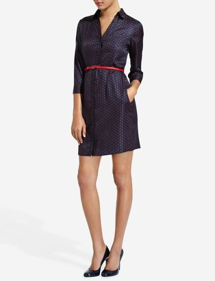 The Limited Dotted Shirtdress