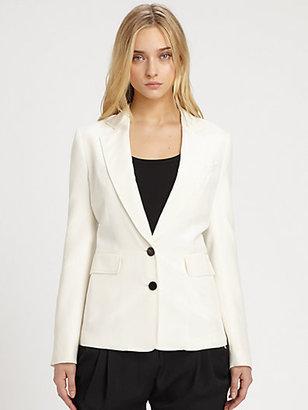 3.1 Phillip Lim Gentleman's Silk Blazer