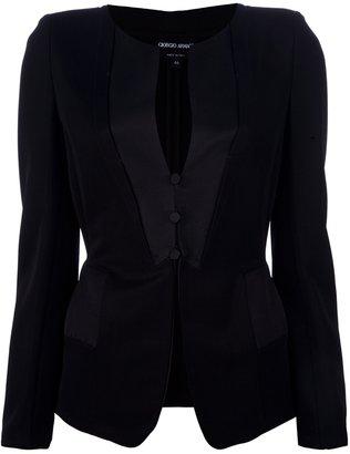 Giorgio Armani fitted jacket