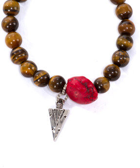 Jbon Clothing Navajo Arrow Red Bracelet