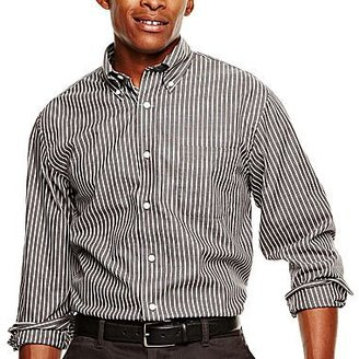 Arrow Long-Sleeve Pinpoint Oxford Shirt