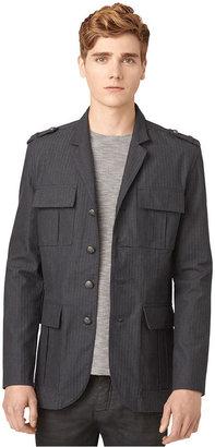 Calvin Klein Jeans Jacket, Herringbone Military Blazer