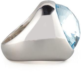 Monica Rich Kosann Blue Topaz Cocktail Ring
