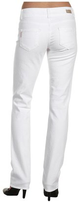 Paige Hidden Hills Straight 14 in Optic White Women's Jeans
