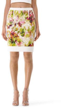 Club Monaco Kenson Printed Pencil Skirt