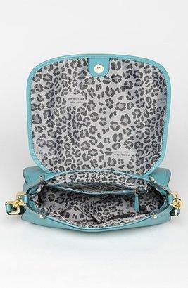 Perlina 'Simone' Leather Crossbody Bag Surf