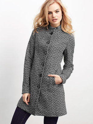 Victoria's Secret Mandarin-Collar Wool Jacket