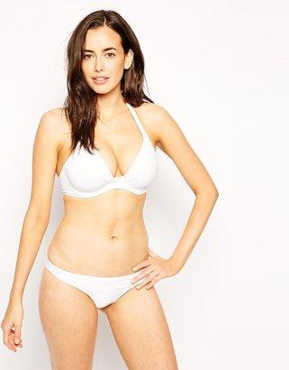 Asos Mix and Match D+ Plunge Halter Fuller Bust Bikini Top DD-G