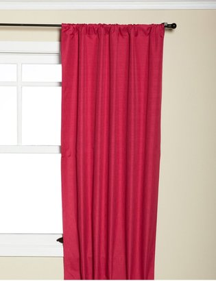"Eclipse Kids Kendall Blackout Window Panel 42 x 63"", Raspberry"