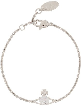 Vivienne Westwood Reina Silver-tone Orb Bracelet
