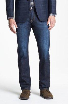 Men's Ag Graduate Slim Straight Leg Jeans $188 thestylecure.com