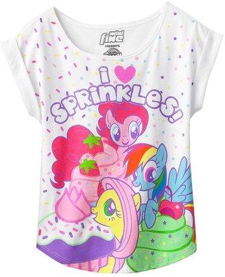 "My Little Pony i love sprinkles"" tee - girls 4-6x"