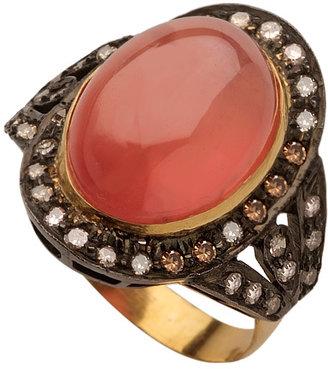 Hari Jewels Rose Quartz Ring