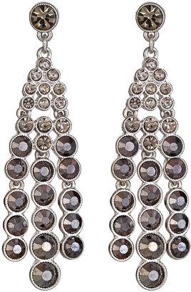 Kenneth Jay Lane Black Diamond Chandelier Earrings