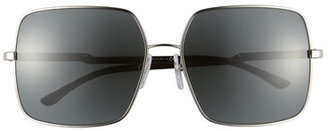 Stella McCartney Eyewear Square Aviator Sunglasses