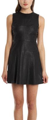 A.L.C. Cortney Leather Dress