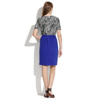 Madewell Silk Cutaway Skirt