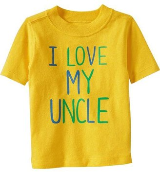 """Old Navy """"I Love My Uncle"""" Tees for Baby"""