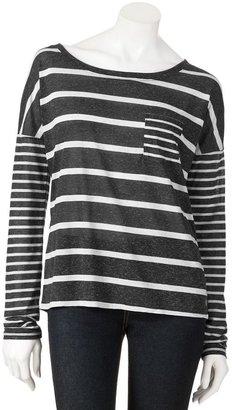 Hang ten striped tee - juniors