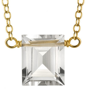 Marie Todd Color Play Crystal Quartz Pendant Necklace