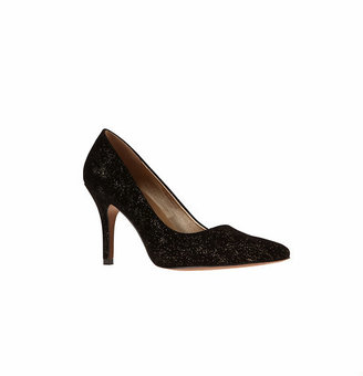 LOFT Sparkle Pointy Toe Pumps
