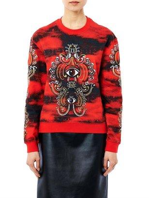Kenzo Lotus eye cotton sweatshirt