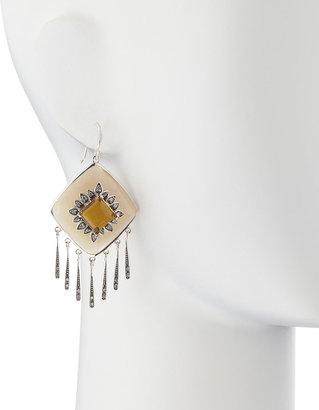 Miriam Salat Faceted Fringe Earrings, Butterscotch