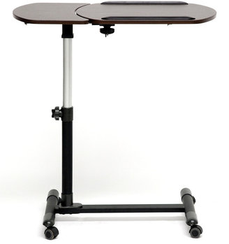 Olsen Brown Wheeled Laptop Desk