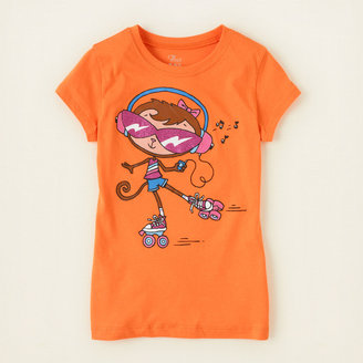 Children's Place Roller skate graphic tee