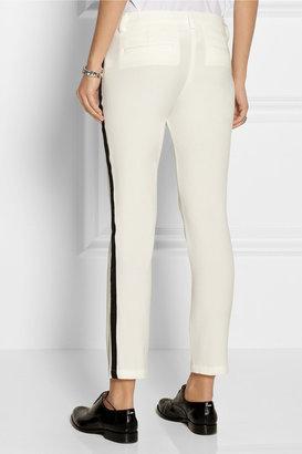 Karl Lagerfeld Pelle stretch-twill tuxedo pants