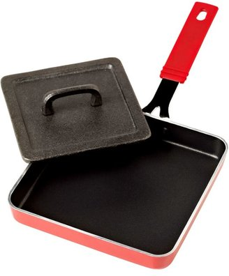 Denmark 5.5-Inch Nonstick Aluminum Square Grill Cheese Pan in Blue