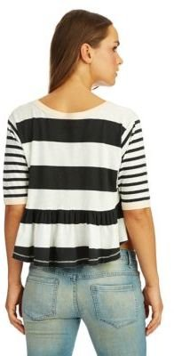 Free People Boxcar Cropped Tee