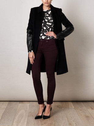 Diane von Furstenberg Sterling coat
