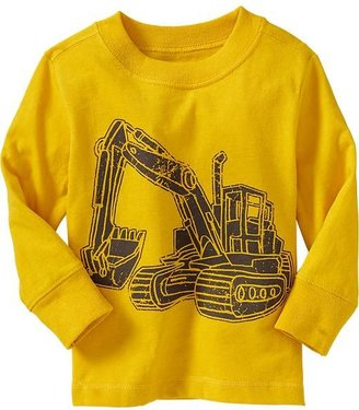 Old Navy Bulldozer-Graphic Tees for Baby