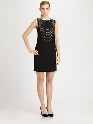 Moschino Cheap & Chic Moschino Cheap And Chic Strass Detail Dress