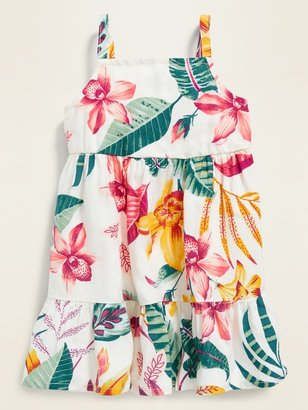 Old Navy Sleeveless Floral Tiered Cami Dress for Baby
