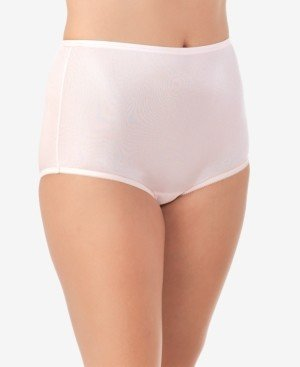 Vanity Fair Perfectly Yours Ravissant Nylon Full Brief Underwear 15712, Extended Sizes